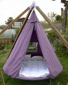 Swing, Bed, Made, From, Recycled, Trampoline