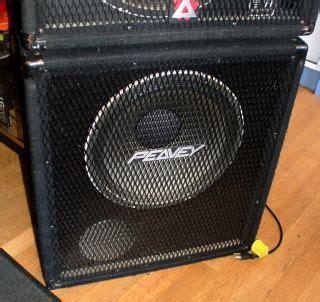 peavey black widow 15 bass cabinet peavey sp2xt pa speaker cabinet 15 blackwidow horn sp2