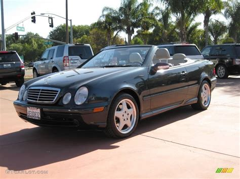 convertible mercedes black 2001 black opal metallic mercedes benz clk 430 cabriolet