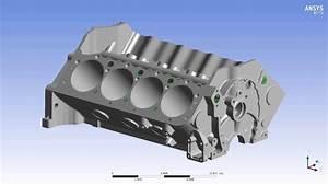 Cfd Engine Block Coolant Flow Simulation