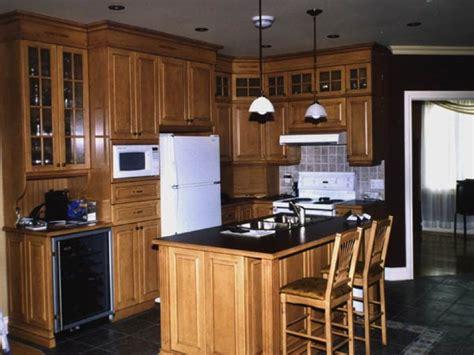 photo modele armoire de cuisine en bois