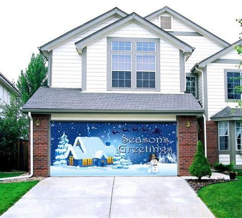 christmas garage door decoration decorative garage doors