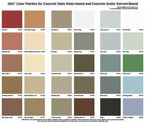concrete stain color chart behr 17 best images about concrete stain colors on pinterest