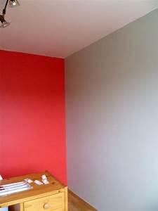 peinture salon rouge et gris meilleures images d With chambre gris et rouge