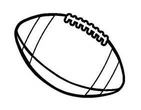 American Football Ball Coloring Pages