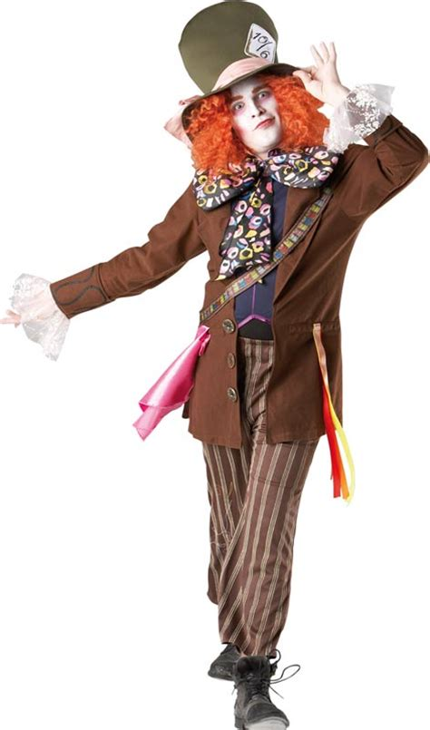 deluxe alice  wonderland mad hatter costume  adults
