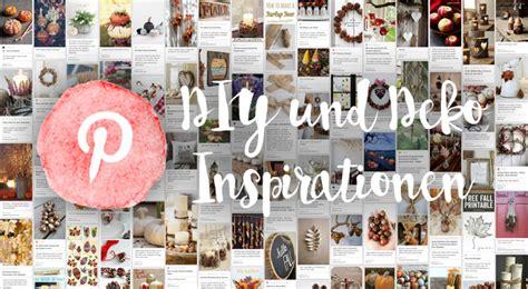 Diy Und Deko Inspirationen Für Den Herbst Auf Pinterest