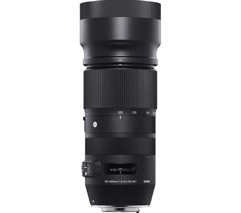 sigma 100 400 mm f 5 6 3 dg os hsm telephoto zoom lens
