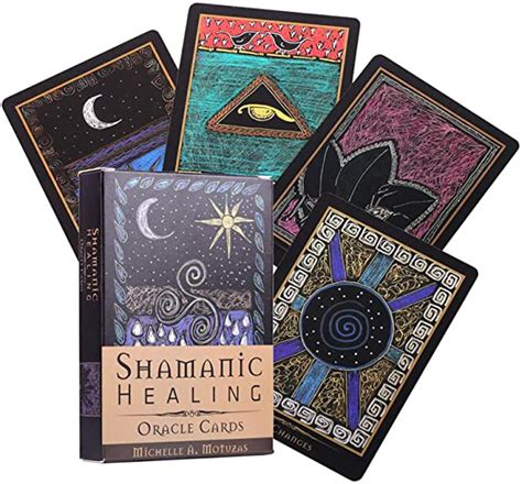 Check spelling or type a new query. Amazon.com: HALASHAO Shamanic Healing Oracle Cards 44PCS Tarot Set English Board Games Party ...