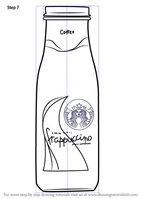 learn   draw bottled frappuccino everyday objects