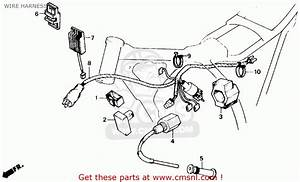 Honda Xr250r 1986  G  Usa Wire Harness