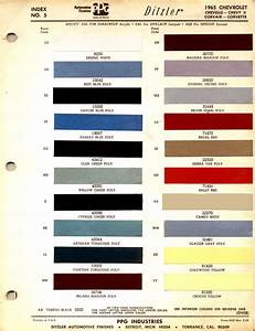 1963 Chevy Impala Color Chart Colorpaints Co