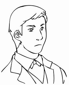 Businessman - Free Colouring Pages