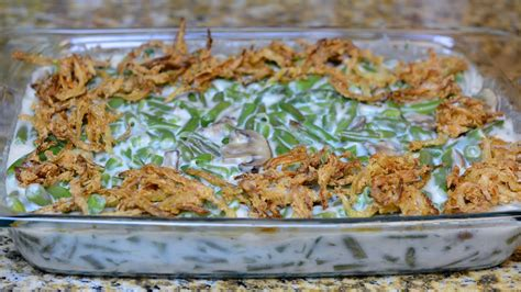 green bean casserole recipe youtube
