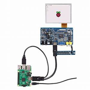 5 Inch 4 Wire Resistive Touch Screen Display Tft Lcd
