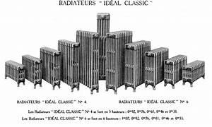 Radiateur En Fonte Electrique : radiateur de chauffage en fonte toutes nos gammes de ~ Premium-room.com Idées de Décoration