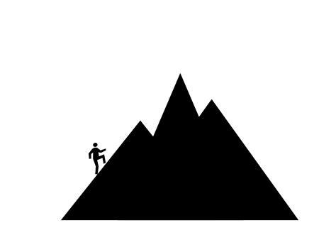 mountain clipart mountain outline clip clipart free