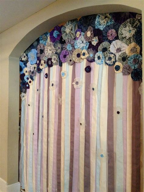 1000 ideas about fabric curtains on