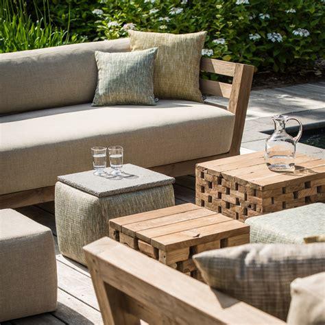 gommaire mia  seater teak sofa luxury outdoor living