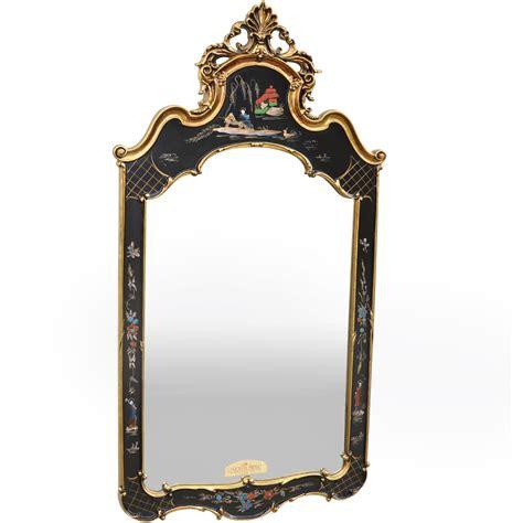 vintage ornate carolina chinoiserie mirror