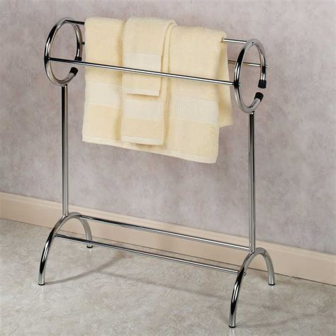 towel rack stand free standing towel racks homesfeed