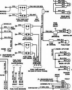 I Need A Wire Diagram For A 89 Ford F150 With Dual Tank Need The Rear Tank Plug Wire Colors