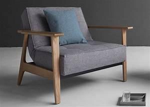 Fauteuil Design Scandinave : fauteuil convertible en textile et bois de ch ne ~ Melissatoandfro.com Idées de Décoration