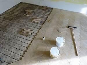 Demontáž dřevěných podlah