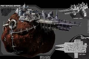 asteroid base concept - Google Search | Star Ships ...