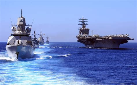 aircraft Carrier, United States Navy, Sea, Military, Fleet ...