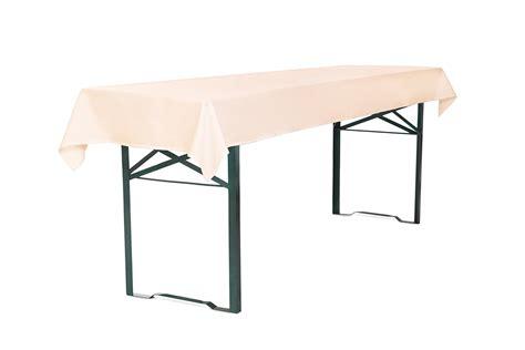 Tischdecke für Bierzeltgarnitur 250 x 100 cm in CremeTDBZ2