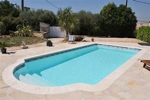 piscine kit coque polyester crete france piscines With plan de bassin de jardin 17 piscine haricot