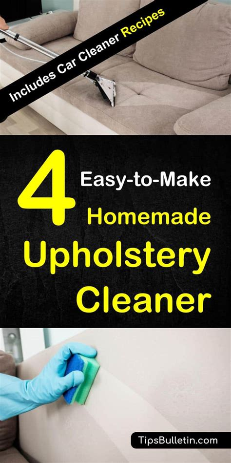 Cleaning Upholstery Diy by 4 Upholstery Cleaner How To Clean Upholstery