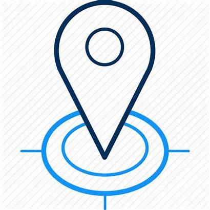 Locate Icon Navigation Location Editor Open