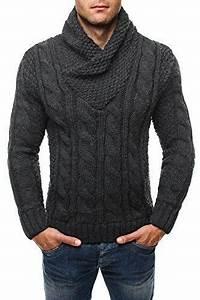 Pull Colle Roulé Homme : pull homme laine rouge vetement breton ~ Melissatoandfro.com Idées de Décoration