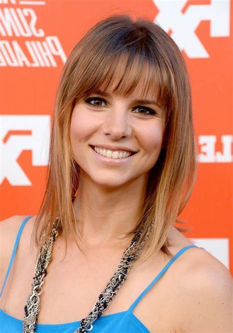 Jill Latiano Medium Straight Cut with Bangs for Fine Hair