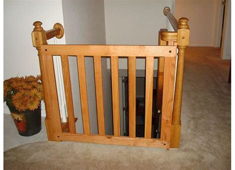 Wooden Baby Gates For Stairs With Banisters by Wooden Baby Gates Design Ww Unsorted Banister Baby