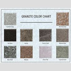 Spence Monument Company  Granite Colors