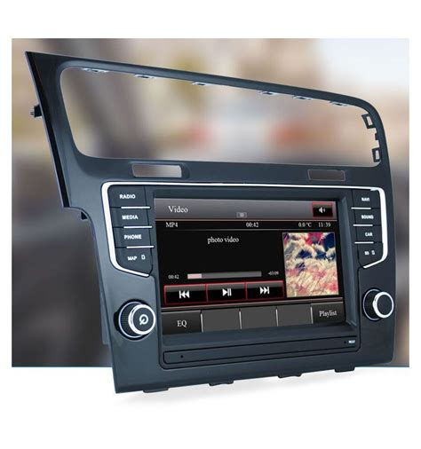 golf 7 composition media volkswagen golf 7 5g gps navigation system upgrade for