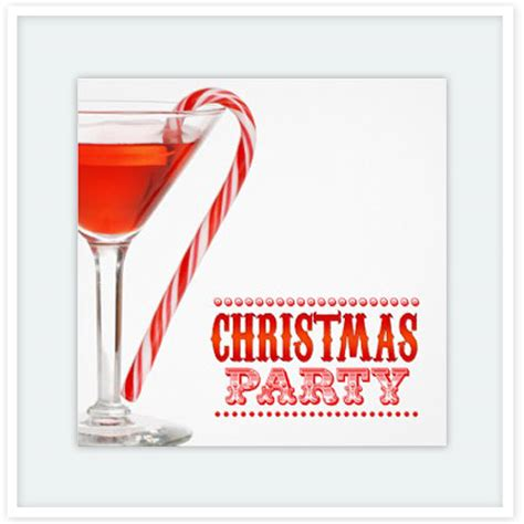 christmas cocktail party christmas candy invitation cards floating lemons treats