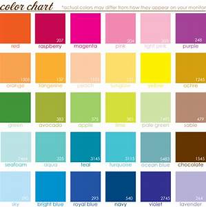 Look at the Birdie and Smile: A color chart