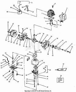 Poulan 920 Gas Blower Parts Diagram For Power Unit