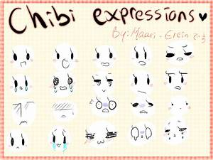 The gallery for --> Cute Chibi Expressions