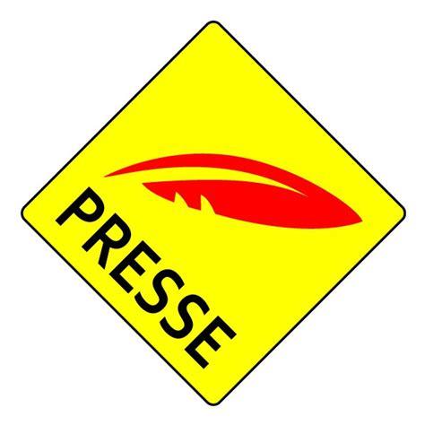 pressing bureau de presse logo presse