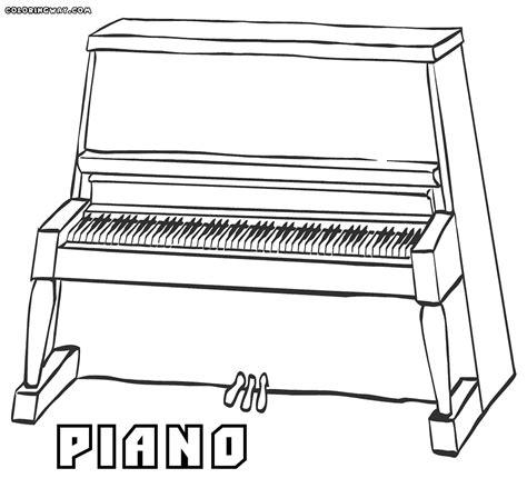 piano coloring pages piano coloring pages