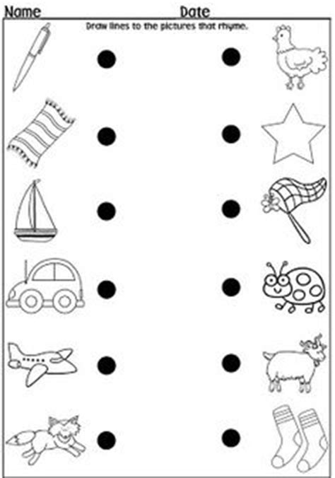 a dozen free rhyming words worksheets from 951 | f550e67e2dd5d3295b5b5685f65489f2 rhyming kindergarten free kindergarten worksheets