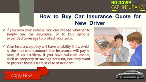 insurance quotes for new drivers ways to buy car insurance for new drivers
