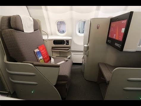 iberia aa business class bos mad bcn ibib flight review  youtube