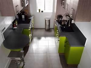 implantation cuisine type ideal tout sur les cuisine en With plan cuisine en parall le