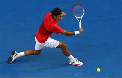 Federer Roger Tennis Wallpapers Backhand Open Australian